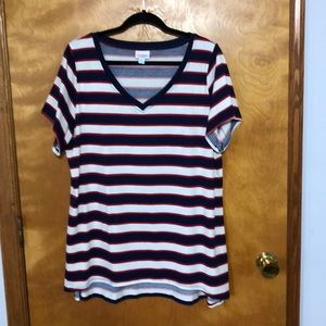 Red, white and blue Christy T